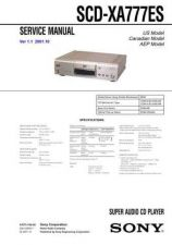 Buy Sony SCD-XA777ES Service Information by download Mauritron #238028