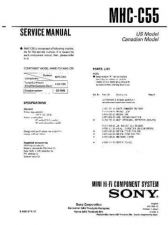 Buy Sony MHC-C7EX Service Manual. by download Mauritron #242833