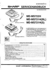 Buy Sharp MDMS722H-721H SM DE(1) Service Manual by download Mauritron #210016