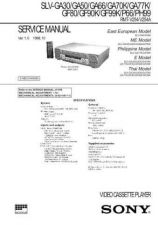 Buy SONY SLVE700IT VIDEO SERVICE MANUAL Technical Info by download #105163