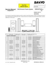 Buy Fisher DVR-HT120 Supplement Service Manual by download Mauritron #215647
