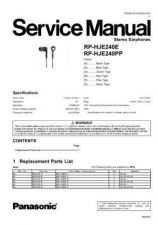 Buy Panasonic rq_sw55v_p_pc Service Manual by download Mauritron #268496