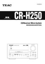 Buy Teac CR-H250(G) Service Manual by download Mauritron #223637
