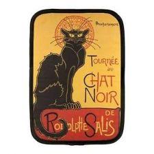 Buy Chat Noir Black Cat Art Neoprene 10 Inch Netbook Case