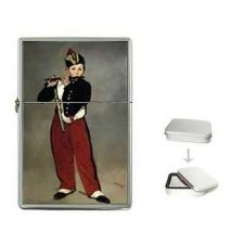 Buy The Fife Player Edouard Manet Cigarette Flip Top Lighter