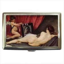 Buy Venus At Her Mirror Cigarette Money Credit Business Card Case