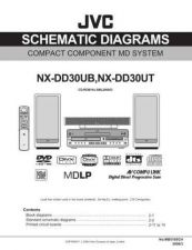 Buy JVC NX-DD30UB[2] Service Manual by download Mauritron #272073