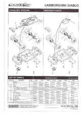 Buy Scalextrix No.303B Lamborghini Diablo Service Sheets by download Mauritron #206