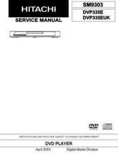 Buy Sony DVP335E Service Manual by download Mauritron #231954