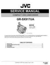 Buy JVC GR-SX917UA Service Manual by download Mauritron #273288