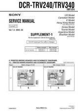 Buy Sony DCR-TRV738ETRV740 TRV740ETRV840... (13) Service Manual by download Mauritr