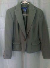 Buy Women's Evan Picone Short Blazer With Collar Size 6P
