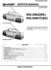 Buy Sharp. WQ296Z-HT_SM_GB Service Manual by download Mauritron #211784