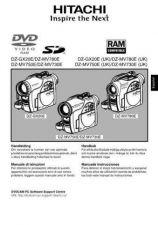 Buy Hitachi DZ-MV730E(UK) ES Manual by download Mauritron #225026