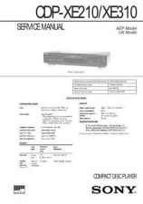 Buy Sony CDP-XE310 Manual by download Mauritron #228227