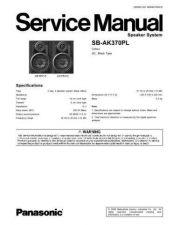 Buy Panasonic SB-AK370PL by download Mauritron #268749
