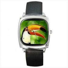 Buy Toucan Bird Parrot Square Wrist Watch