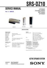 Buy Sony SRS-N100 Service Manual. by download Mauritron #244579
