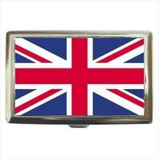 Buy UK United Kingdom Flag Cigarette Money Credit Business Card Case