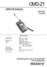 Buy Sony CMD-Z1 Service Technical Info by download #104701