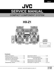 Buy JVC HX-Z1 SERVICE MANUAL by download Mauritron #220272