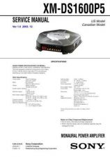 Buy Sony XM-D500X Service Manual. by download Mauritron #246032