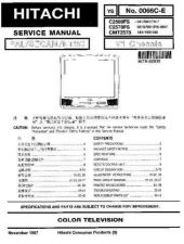 Buy Sony C25EG95B-CB5956-25MT1 Service Manual by download Mauritron #236969