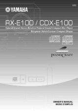 Buy Yamaha CDX-E100 Operating Guide by download Mauritron #247043