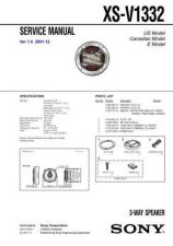 Buy Sony XS-V1332. Service Manual. by download Mauritron #246430