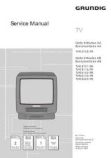 Buy GRUNDIG TVR3705a SERVICE I by download #105633