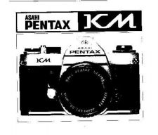 Buy PENTAX KM CAMERA INSTRUCTIONS by download #119054