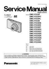 Buy Panasonic DMC-FX50GT Service Manual with Schematics by download Mauritron #266726