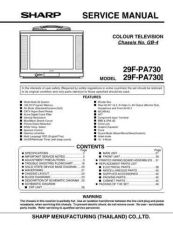 Buy Sharp 29F-PA330I GB4 Chassis by download Mauritron #232603