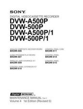 Buy Sony DVW-709WS-709WSP Service Manual by download Mauritron #244223