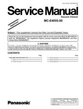 Buy Panasonic mcv5248c-sm Service Manual by download Mauritron #267657