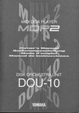 Buy Yamaha DOU10E Operating Guide by download Mauritron #247548