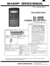 Buy Sharp EL-531VH Technical Information by download Mauritron #232887