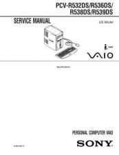 Buy Sony PCV-MXS10 Service Manual. by download Mauritron #243453