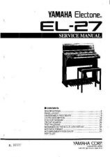 Buy Yamaha EL25 PL E Manual by download Mauritron #256497