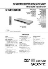 Buy Sony DVP-NS355NS501PNS507PNS525PNS575PNS585P Service Manual by download Mauritr