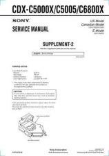 Buy Sony CDX-C490Service Manual by download Mauritron #237584