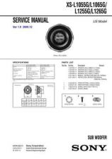 Buy Sony XS-L1055GL1065G Service Manual. by download Mauritron #246392