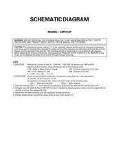 Buy TOSHIBA 43PH14PCD Service Schematics Service Information by download #114152