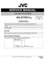 Buy JVC AV-21L11 AV-21L31 AV-25L31 Service Manual Schematic Circuit. by download Mauritro
