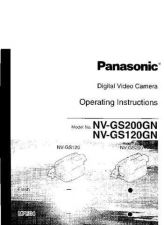 Buy Panasonic NVGS120 GS200 Operating Instruction Book by download Mauritron #2362