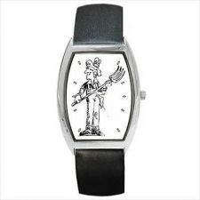 Buy Farmer Cartoon Man Unisex Barrel Shaped New Wrist Watch