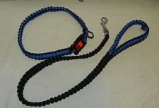 Buy new hand made the usa paracord para cord police blue line collar dog leash 550