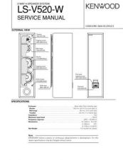 Buy KENWOOD LS-V520W Technical Information by download #118797