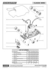 Buy Scalextrix No.420D Classic Mini Service Sheets by download Mauritron #206587