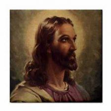 Buy Jesus Christ Portrait Face Art Ceramic Tile